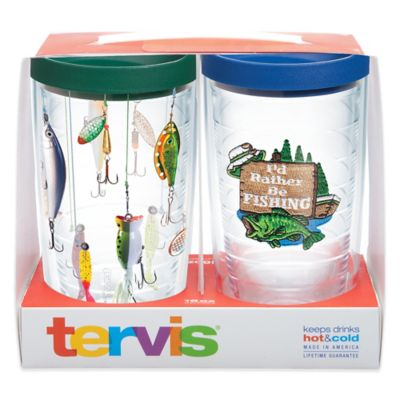 Tervis® I'd Rather Be Fishing 16 oz. Tumbler Gift Set with Lids (Set of 2)