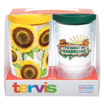 Tervis® I'd Rather Be Gardening 16 oz. Tumbler Gift Set with Lids (Set of 2)