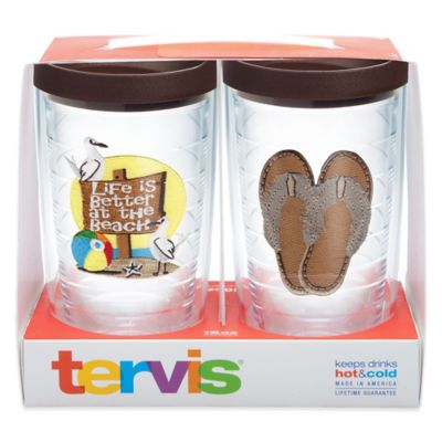 Tervis® Life is Better at the Beach 16 oz. Tumbler Gift Set with Lids (Set of 2)