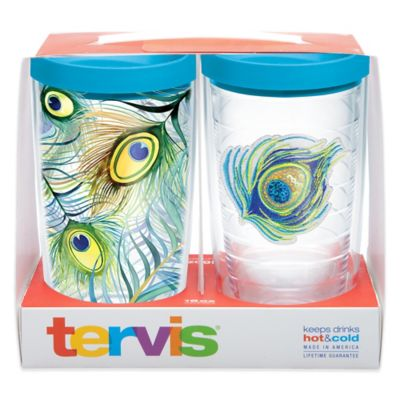 Tervis® Peacock 16 oz. Tumbler Gift Set with Lids (Set of 2)