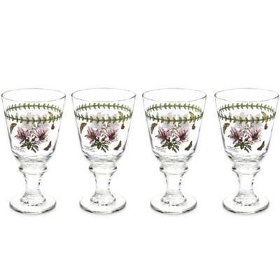 Portmerion Botanic Garden All-Purpose Wine Glasses (Set of 4)