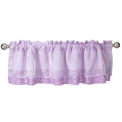 Lambs & Ivy® Butterfly Lane Window Valance