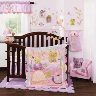 Crib Bedding Sets > Lambs & Ivy® Puddles 4-Piece Crib Bedding Set