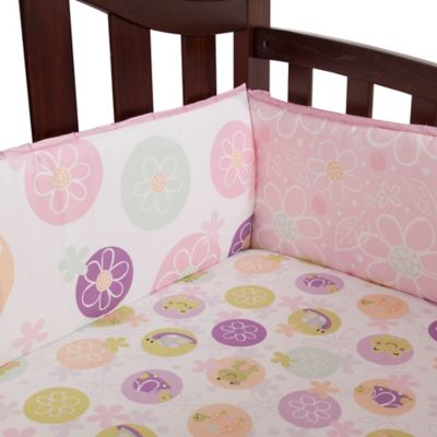 Lambs & Ivy® Puddles 4-Piece Crib Bumper