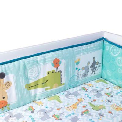Lambs & Ivy® Yoo-Hoo 4-Piece Crib Bumper