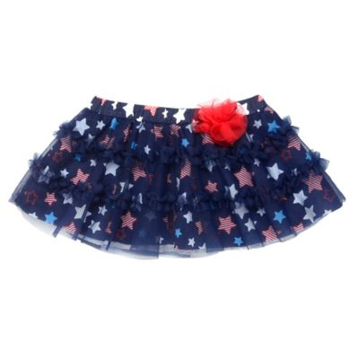 Baby Starters® American Stars Tulle Tutu Skirt in Navy