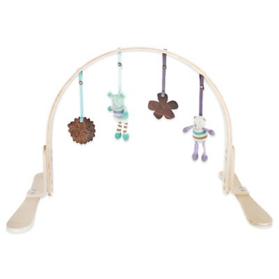 Finn + Emma Girl Wood Play Gym in Birch