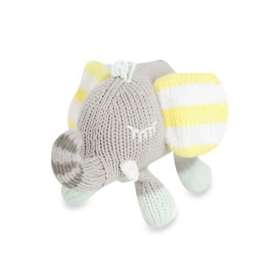 Finn + Emma® Organic Piper the Elephant Rattle