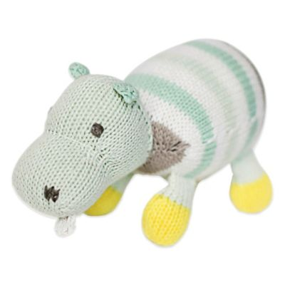 Finn + Emma® Organic Henry the Hippo Rattle