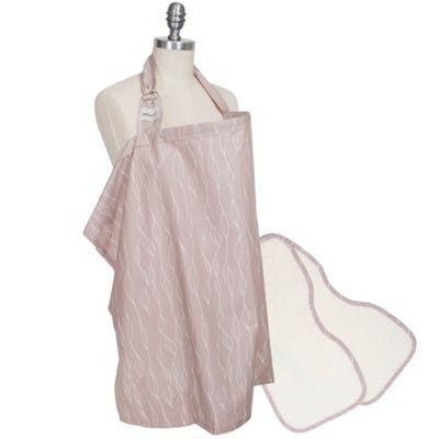 Bébé au Lait® 3-Piece Organic Cotton Nursing Essentials Set in Blush