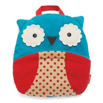 SKIP*HOP® Zoo Owl Travel Blanket in Blue/Red