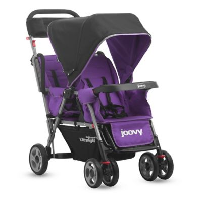 Joovy® Caboose Too Ultralight Stand-On Tandem Stroller in Purple