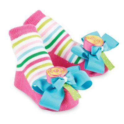 Pink Blue Socks