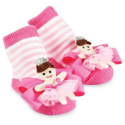 Mud Pie® Princess Socks in Pink