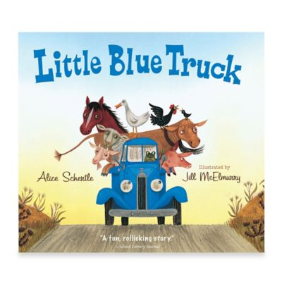 """Little Blue Truck"" Board Book by Alice Schertle"