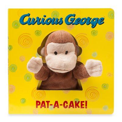 """""""Curious George Pat-A-Cake"""" Board Book"""