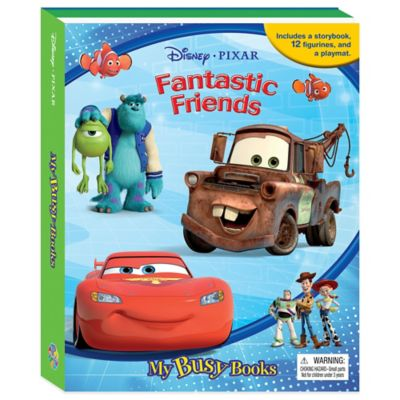 Disney® Pixar Fantastic Friends My Busy Book
