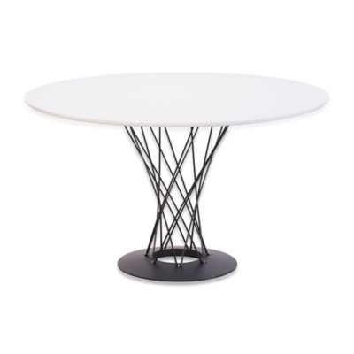Zuo® Modern Spiral Dining Table in White