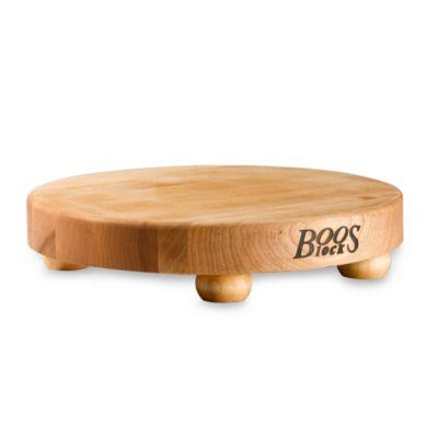 John Boos 12-Inch Round Cutting Board