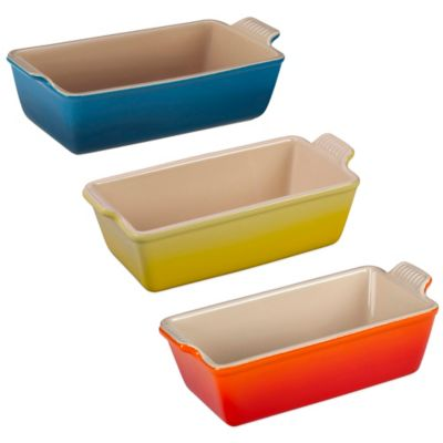 Le Creuset® 1.5 qt. Heritage Loaf Pan in White