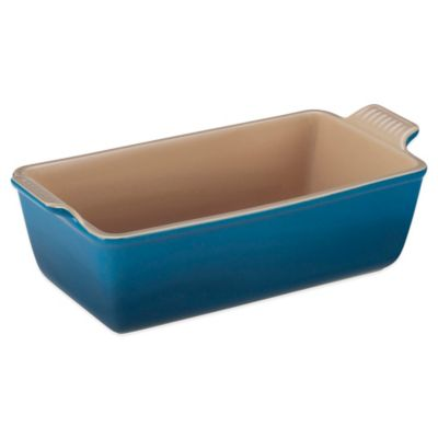 Le Creuset® 1.5 qt. Heritage Loaf Pan in Marseille Blue