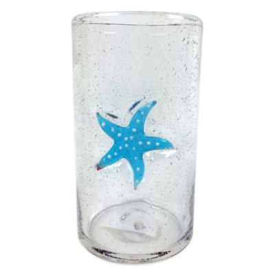 Bubble Starfish Highball Glass