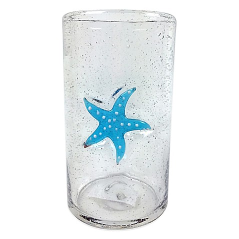 Buy Bubble Starfish Highball Glass From Bed Bath Amp Beyond