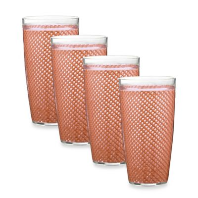 Mauve Highball Glasses