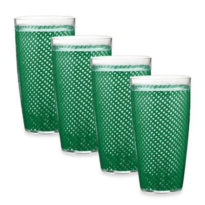 Emerald Drinking Glasses
