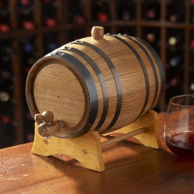 Mini 5-Liter Oak Wine Barrel