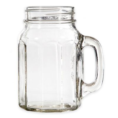 Del Sol™ Panel 17 oz. Glass Mugs (Set of 4)