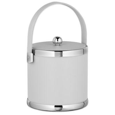 Kraftware™ Contempo White 3 qt. Ice Bucket