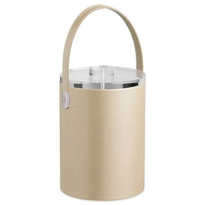 Kraftware™ Zappa Beige 2-Quart Tall Ice Bucket with Lucite Lid