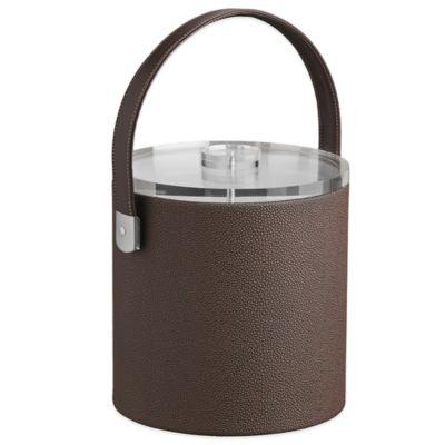 Kraftware™ Cosmopolitan Mocha 3 qt. Ice Bucket with Lucite Lid