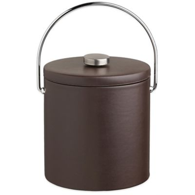 Kraftware™ Contempo Brown 3 qt. Ice Bucket with Fabric Lid
