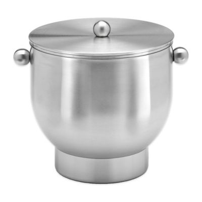 Kraftware™ Forme Brushed Stainless Steel 3 qt. Ice Bucket