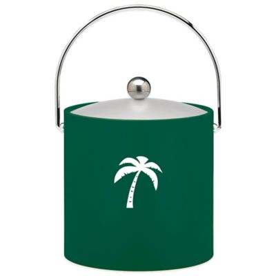 Kraftware™ 3 qt. Palm Tree Ice Bucket in Green