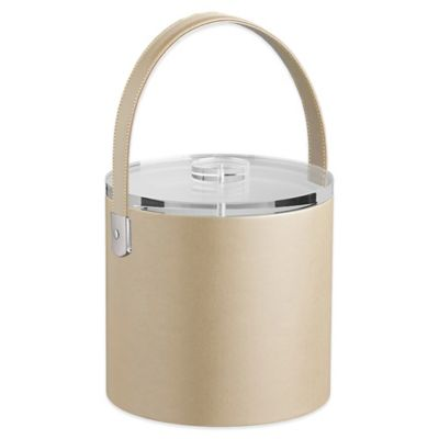 Kraftware™ Zappa Beige 3 qt. Ice Bucket with Lucite Lid