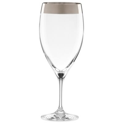 Lenox Timeless Wide Platinum Beverage Glass