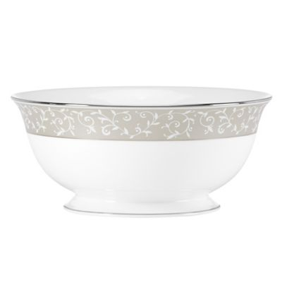 Lenox® Opal Innocence™ Round Serving Bowl in Dune