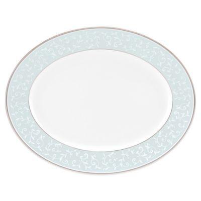 Lenox® Opal Innocence™ Oval Platter in Blue