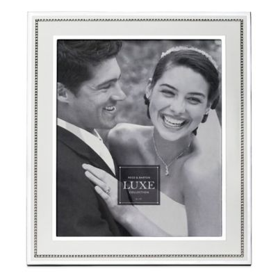 Reed & Barton Luxe Collection 8-Inch x 10-Inch Facet Photo Frame
