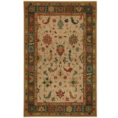 Karastan Knightsen Southwood 8-Foot x 10-Foot Rug in Coffee