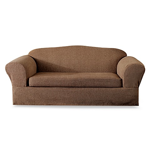 Calvintoast 2 Piece Sofa Slipcover By Sure Fit Bed Bath