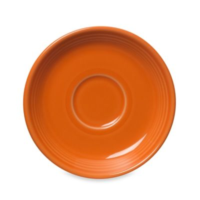 Fiesta® Saucer in Tangerine
