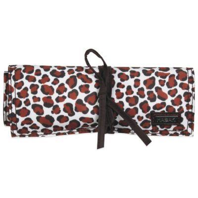 Hadaki® by Kalencom Jewelry Roll in Luna Blue Safari Cheetah