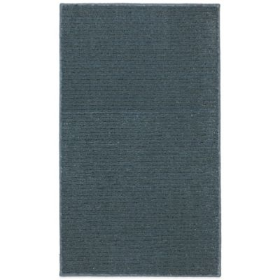 Mohawk Home Pinstripe 1-Foot 8-Inch x 2-Foot 10-Inch Rug in Blue Sea