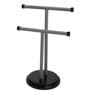 Refined Closet™ Jewelry T Stand in Tan/Black