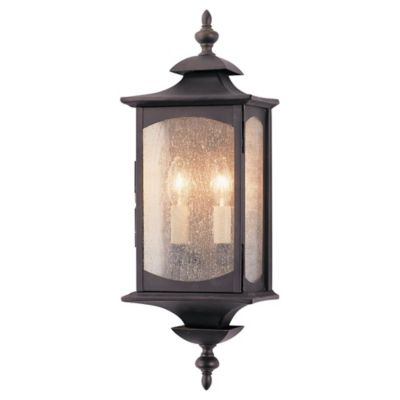 Feiss® Market Square Outdoor Wall Lantern in Oil Rubbed Bronze
