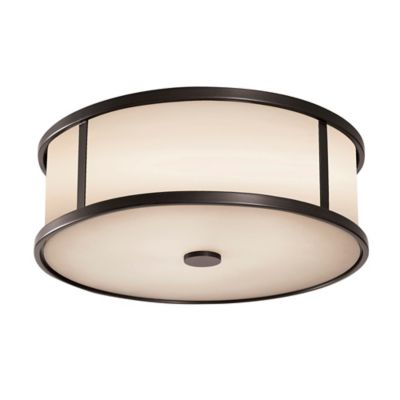 Feiss® Dakota Ceiling Mount Outdoor Light in Espresso